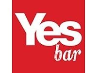 Experienced Bar & Waiting Staff required Glasgow City Centre
