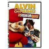 Chipmunks Squeakquel DVD