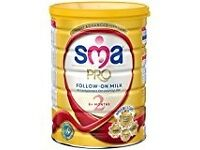 SMA PRO Follow-On Milk 6 Months Plus, 800 g pack of 5
