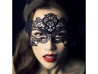 Black Lace Sexy Masquerade Halloween Prom Party Mask