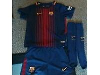 boys full barcelona kit