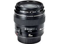 Canon Lens EF 1.8f 85mm