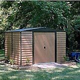 8 x 6 Woodvale Apex Metal Shed. New. Flatpack.PICK UP TODAY.