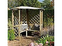 Chiltern Corner Arbour. New. Flatpack. PICK UP TODAY.