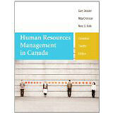 Human Resources Management in Canada; Edition: 12th