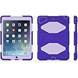 Griffin Survivor Extreme-Duty Military Case for the New iPad 4/3/2 Black, Blue, Purple, Lavender, Military...