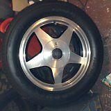 80's vintage Riken Wheels 4 holes for Mustang etc.