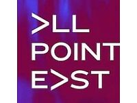 All Point East Friday - best offer