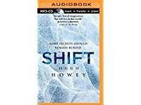 MP3 CD audiobook: 'Shift' by Hugh Howey