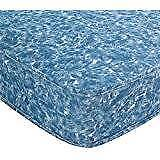 "New Purchased 4ft 6"" Blue Divan Bed Base"