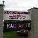 K & G Auto Parts, Delta OH.