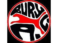 Bury Athletic Club needs volunteer helpers to support coaches in the junior sections of the club.