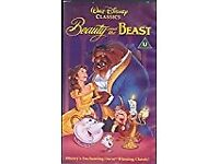 VHS Beauty And The Beast