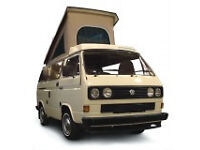 VW Westfalia Roof Canvas Tan 3 Window Type May 1979 to July 1985