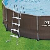16' ft outbound pool,