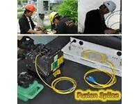 Fiber Optic Network Installation Services, Repairs & Training. RJ11, Cat5e, Cat6, Extension Sockets