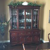 Gibbard Mahoghany Diningroom set & Accessories as noted