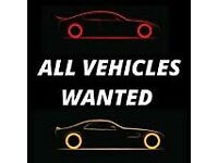 All types of vehicles wanted for💷