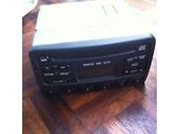 CD player and radio for a Ford Focus