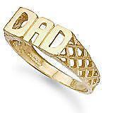 9ct Gold Dad Ring