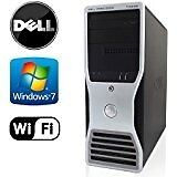 2 Dell 490 + Monitor Dell P2210 workstation or gaming pc with Intel Xeon, nvidia quadro, HP