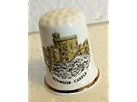Windsor Castle collectable thimble