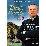 Doc Martin, Seasons 1-5 inclusive on DVD.  For fans of Brit TV!