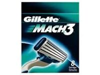 Mach 3 blades(Pack of 8) only £7.50 half price retail or 2 for £12!!!!!!!!!