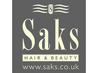 Hair salon managers, Stylists and Apprentices wanted for Saks Salon in Cheadle