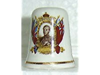 Edward VIII collectable thimble