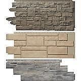 Novik Replica Stone - Faux Vinyl Stone Siding - Plus a large selection of siding products available across Canada