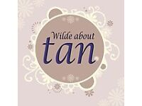 Wilde About Tan - mobile professional spray tanning covering Sandiacre and surrounding areas.