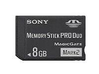 Sony Memory Stick Pro Duo 8GB Magic Gate Mark 2