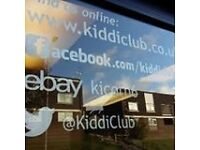 Kids Clothing Business for sale. Includes all stock, website, leasehold, office space, fixtures