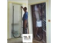 Brand New Two Packs True Products Dust Stop Zip Door Kit