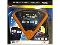 Dr Who Trivial Pursuit, never used