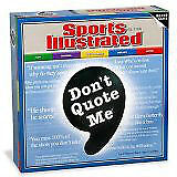 Don't Quote Me - Sports Illustrated Edition - Brand New in Box