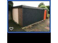 Concrete Sectional Garage 5.85x3.45m
