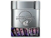 Star Trek Enterprise all 4 DVD Hard dvd Boxsets (collectors hard dvd cases) as new .. £24