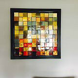 3D Square Wallart from Bombay
