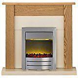 Adam Southwold electric fire suite