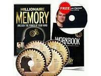 millionaire memory program audio dvd