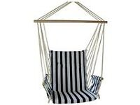 Nautical outdoor swing chair