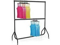 Heavy Duty 6 Foot Clothes Rails for Sale