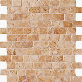 Italian ceramic mosaic floor / backsplash tile (12 sq ft)