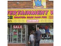 Entertainment world!! Retro games, Vintage toys, records, memorabilia, Pokemon, Warhammer, Nintendo