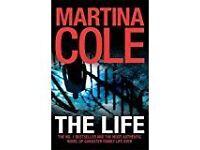 2 HARDBACK MARTINA COLE BOOKS (New)