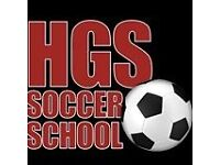HGS SOCCER SCHOOL IN FINCHLEY AREA - We coach from 3 years to 16 how to play football.