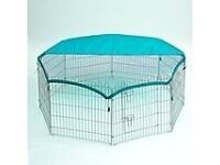 Brand new in box extra large rabbit run!!!