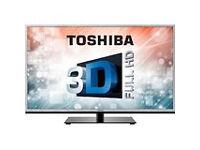 toshiba 40rl953. smart. led screen. mint condition. 3d.
